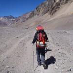 Pakeliui į Pampa de Lenas stovyklą