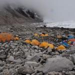 Nepalas Everesto bazinė stovykla 5350 m