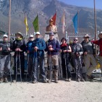 Nepalas hihike Prie paminklo serui Edmundui Hilariui