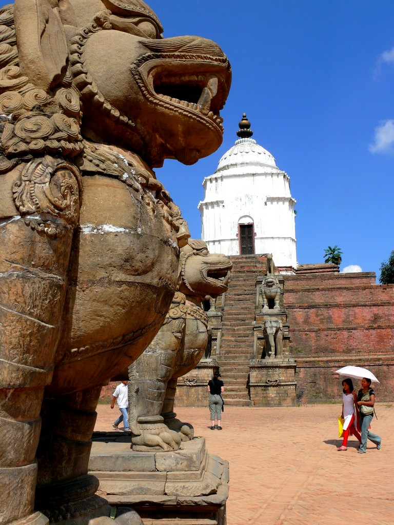 Nepalas - Baktapur - senovinis miestas Kathmandu slėnyje