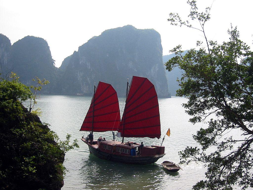 Vietnamas - Halong įlanka