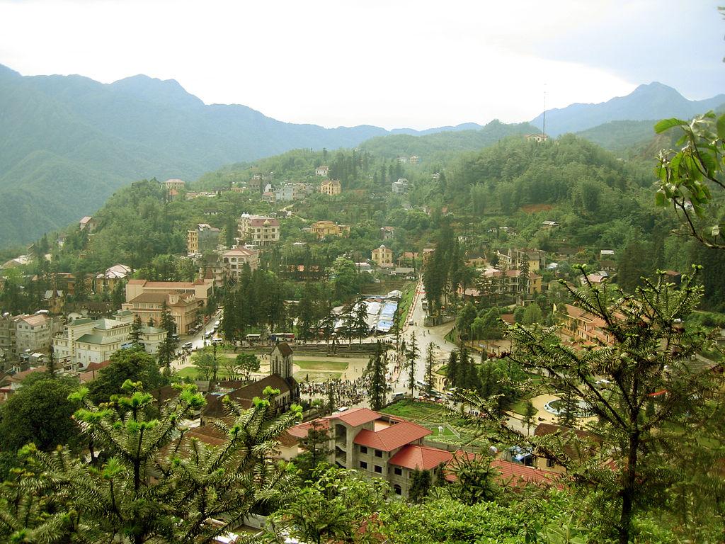 Vietnamas - Sapa miestelis