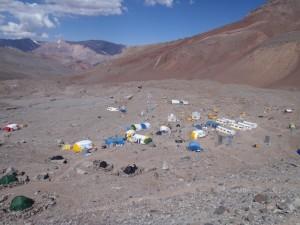 Plaza de Argentina bazinė stovykla 4200 m