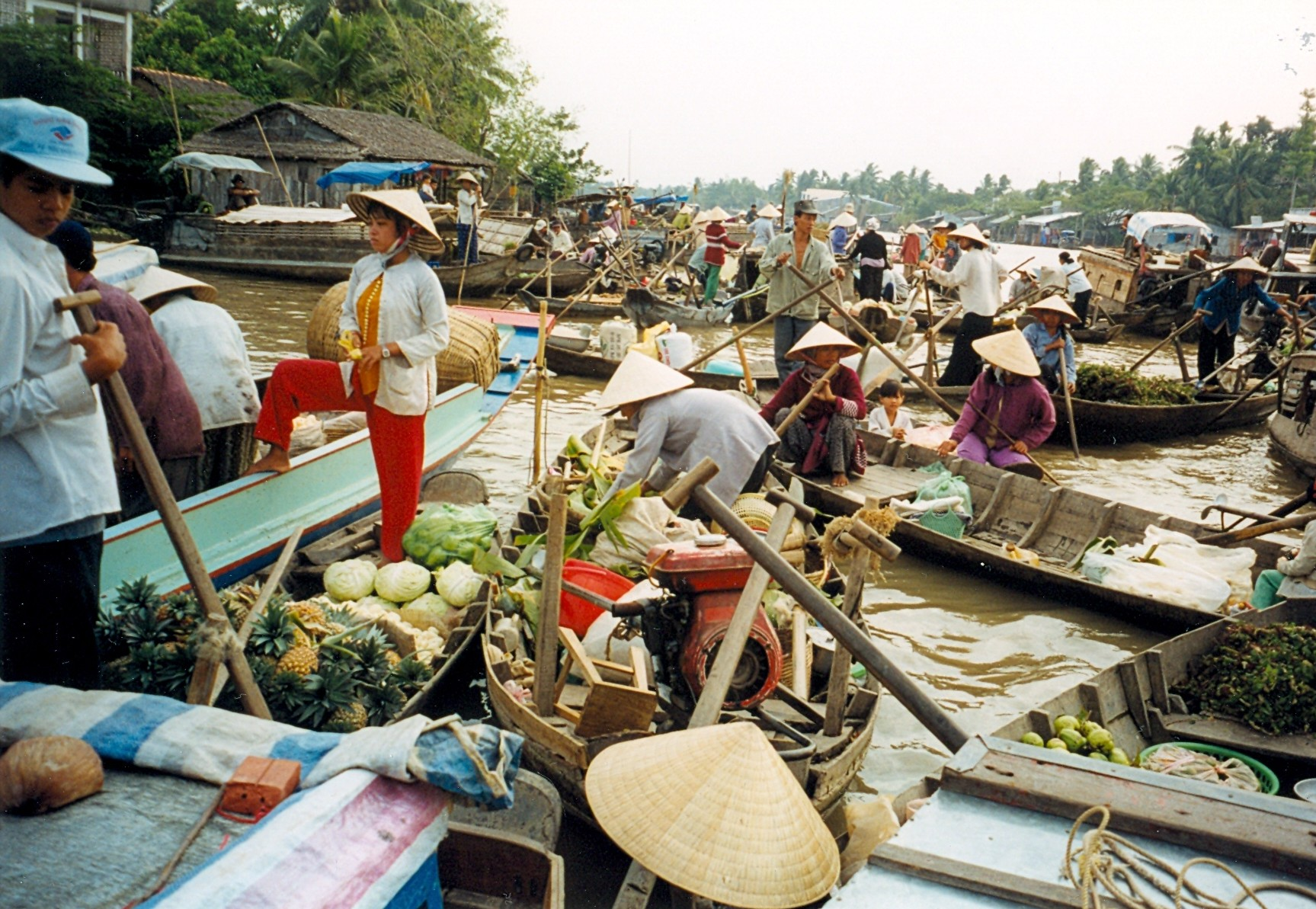 Vietnamas -Can Tho plaukiojantis turgus
