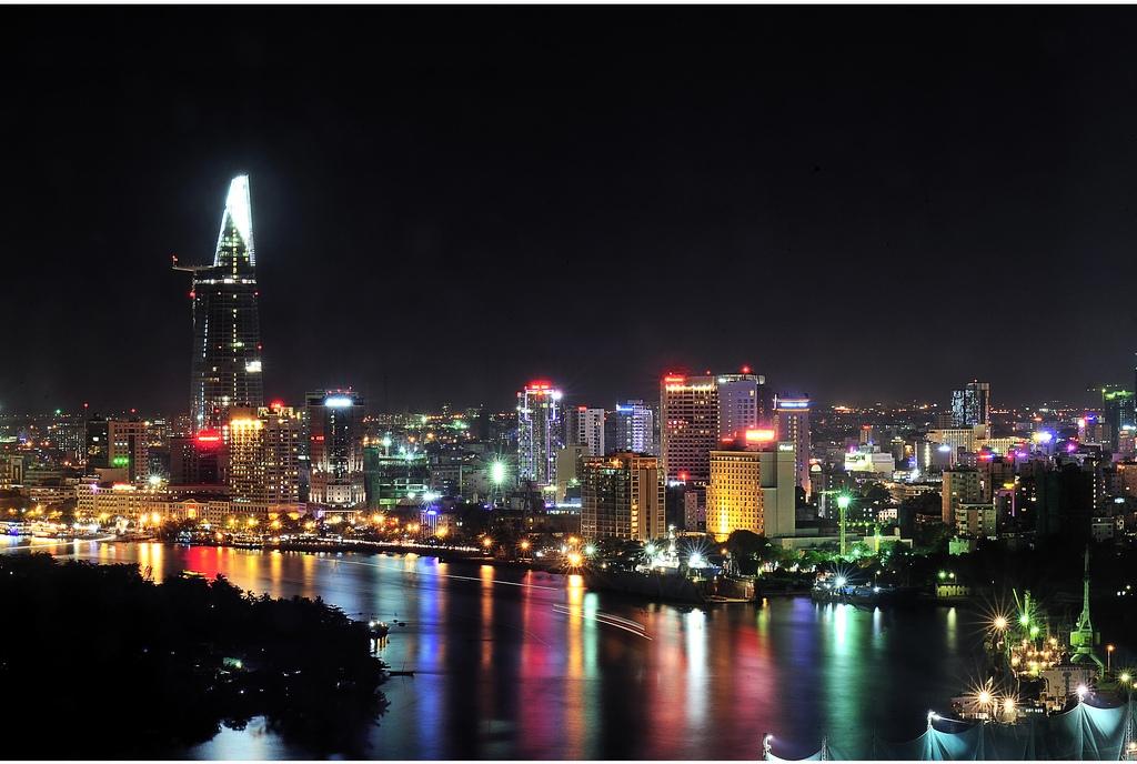 Vietnamas - Hošimino panorama