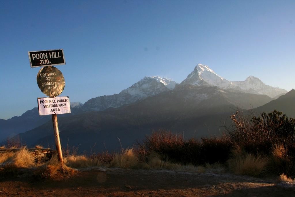 Kelionė į Nepalą - Poon Hill viršūnė