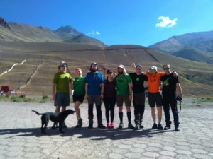 HiHike is on the way to Aconcagua