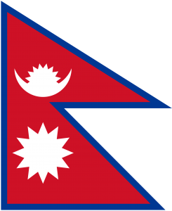 Nepalo vėliava
