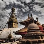 Kelionė į Nepalą - Swayambhunath šventykla
