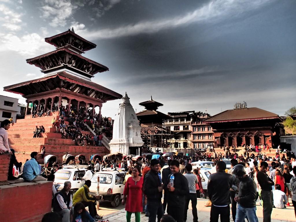 Kelionė į Nepalą - Patano senamiestyje