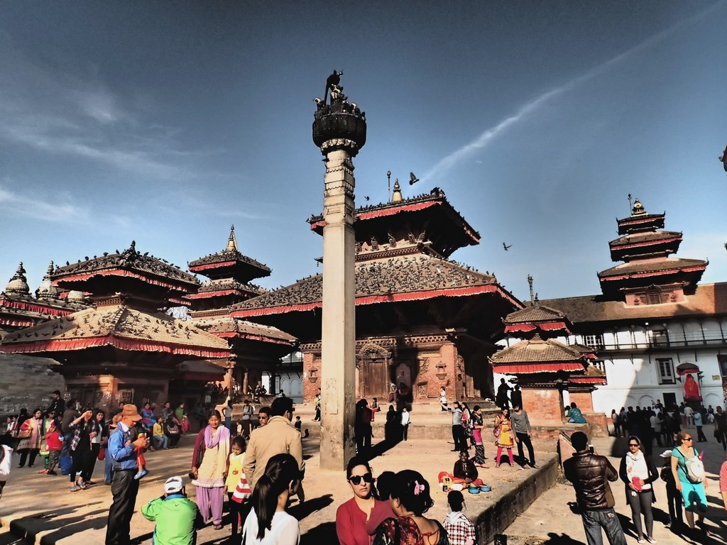 Kelionė į Nepalą - Katmandu karališkoji aikštė