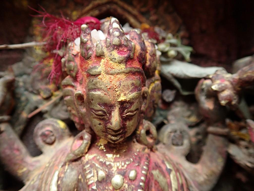 Kelionė į Nepalą - Auksinė šventykla Patane