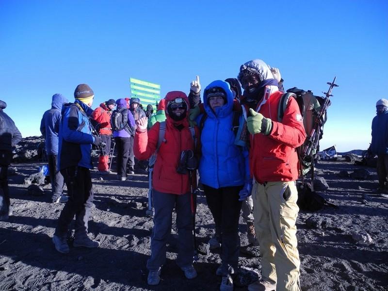 Kilimandžaras - viršūnė