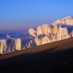 Kilimandžaras - viršūnės ledynas