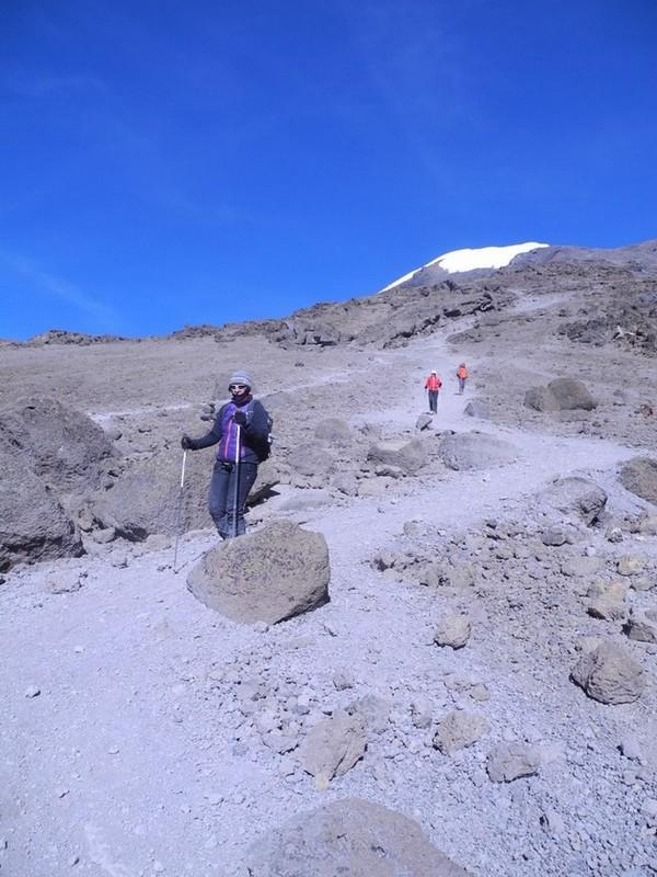 Kilimandzaras -leidžiantis žemyn