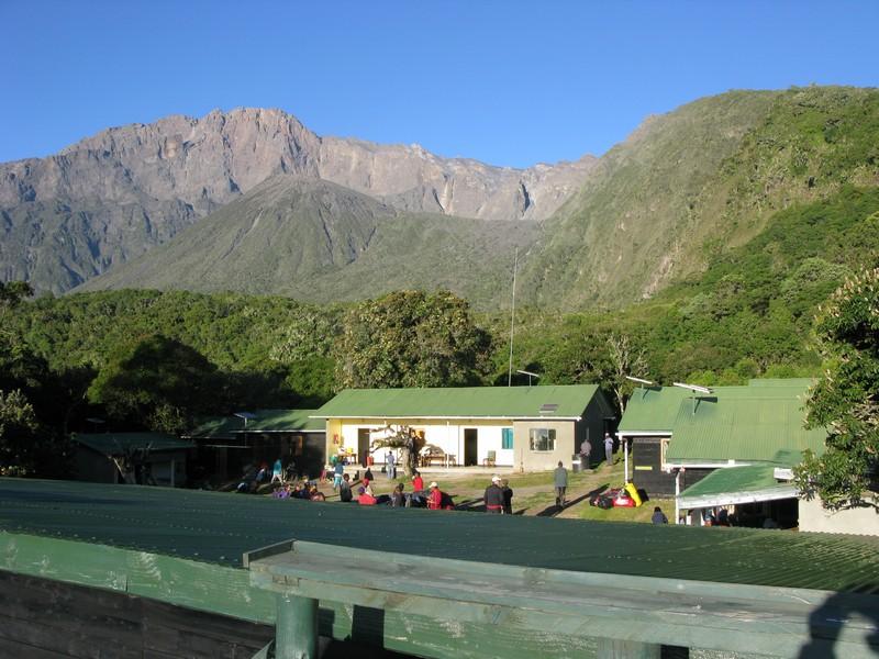 Kilimandzaras - stovykla pakeliui į Meru viršūnę