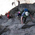 Kilimandžaras - statesnė atkarpa