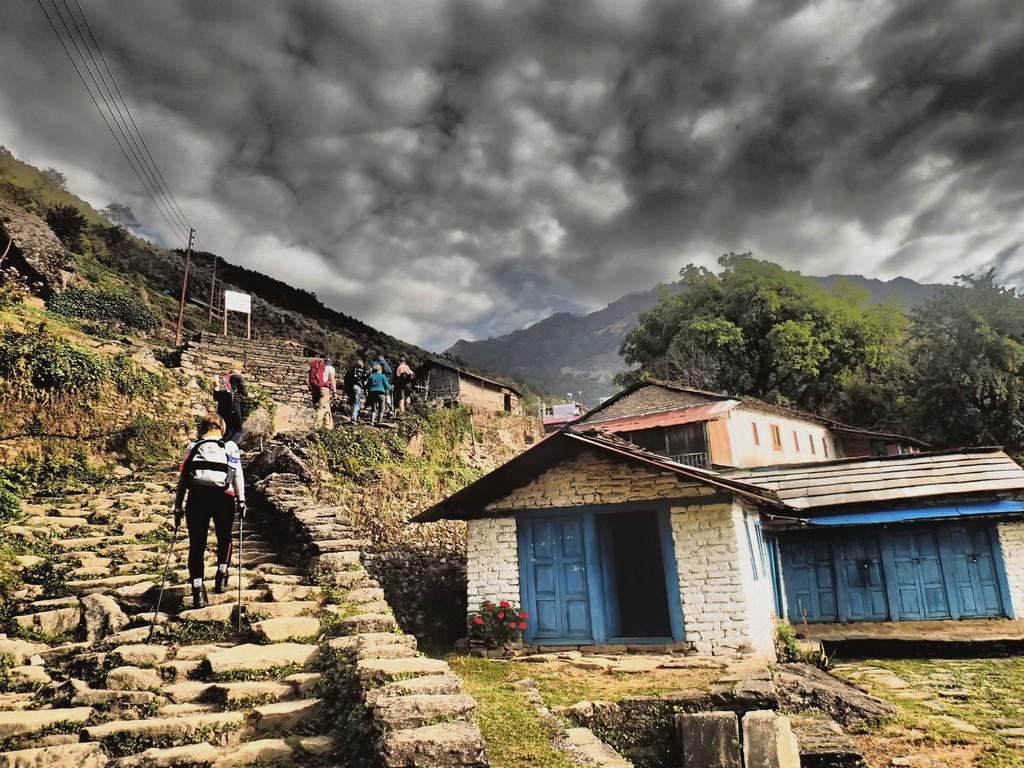 Kelionė į Nepalą - žygis kalnuose
