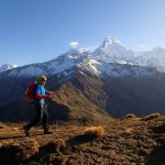 Kelionė į Nepalą - pakeliui į Mulde apžvalgos aikštelę