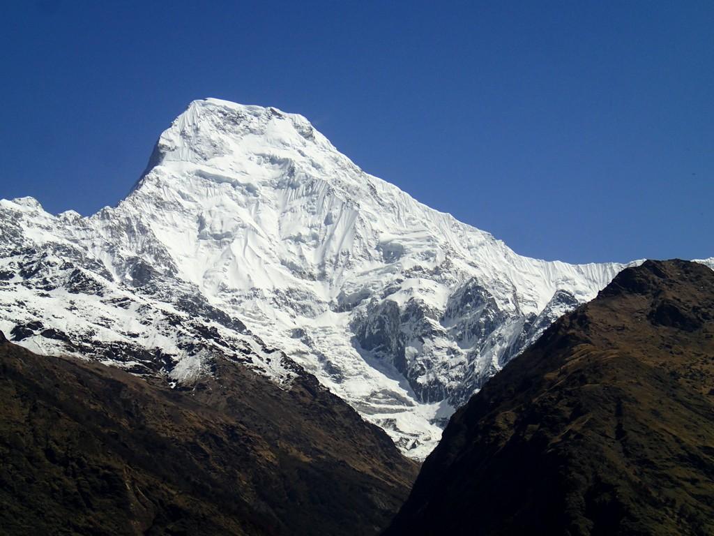 Kelionė į Nepalą - kalnų viršūnės