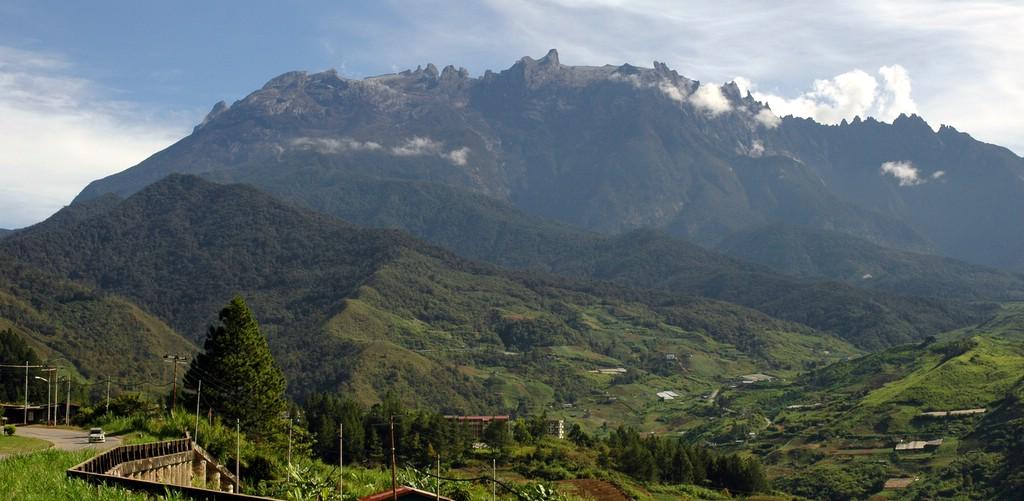 Malaizija - Kinabalu kalnas